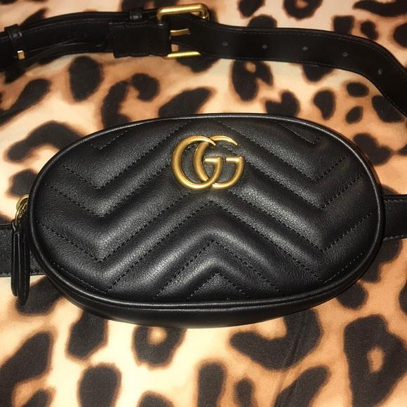 f478daafe1d6 Gucci Bags | Marmont Matelasse Belt Bag | Poshmark